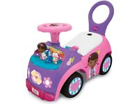 Doc McStuffins ride on car