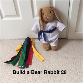 Build A Bear Rabbit and outfit