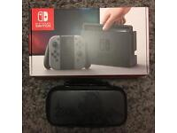 Nintendo Switch 32GB Grey Console + Extras