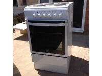 Excellent condition. Indesit freestanding electric cooker, only 18 months old