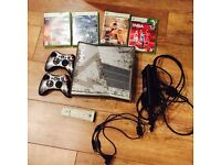 XBOX 360 CALL OF DUTY MW3 CONSOLE 320GB + GAMES