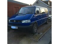 VW transporter Multivan 2.5tdi 102 BNP double sliding doors, with tailgate 11 months mot