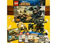 Lego DC Batman Vs Bane Tumbler Chase 76001 + manual + box