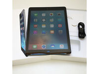 Apple iPad Air 16GB Wi-Fi 4G UNLOCKED + BOX and cable