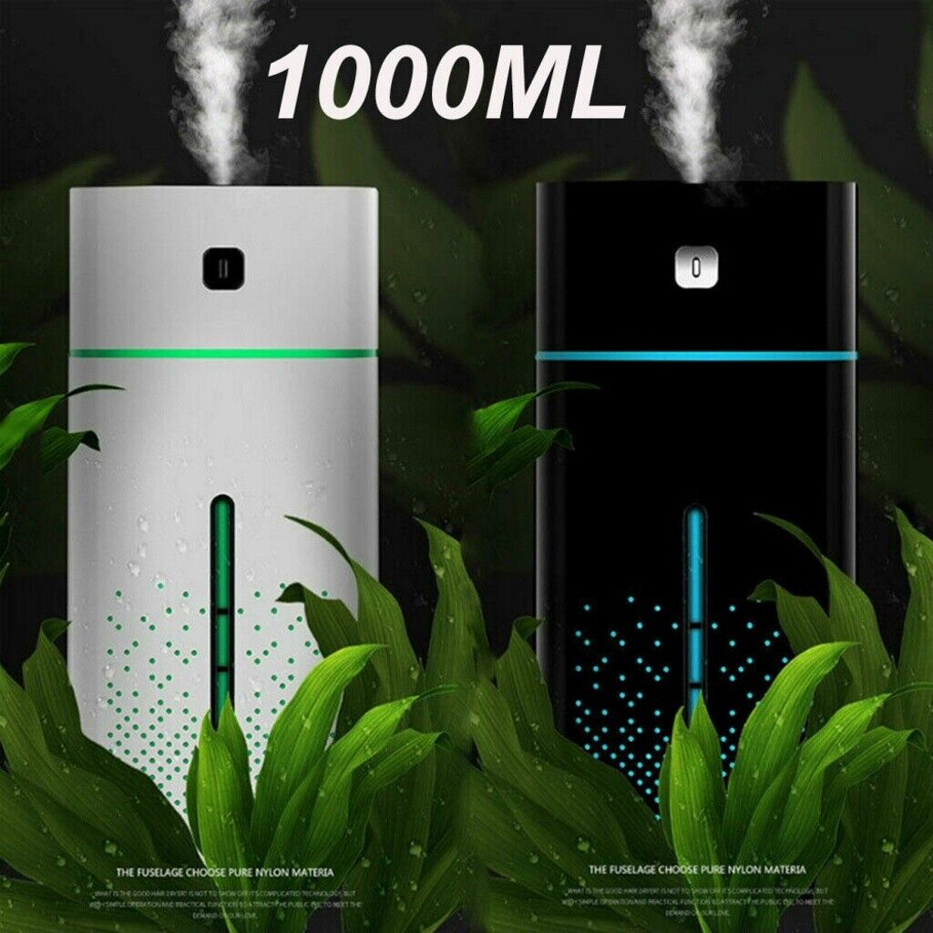 1000ml 7 led essential oil humidifier aroma