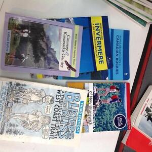Assorted hiking guides