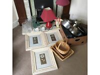 Job lot of car boot items- good quality items bargain price