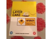 Layer cake and snatch DVD