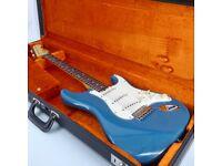 2004 Fender Custom Shop '62 Stratocaster NOS - California Beach Ltd Edition - Catalina Blue - Trades