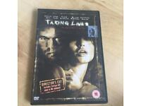 Taking Lives: Director's Cut DVD (2004) Angelina Jolie