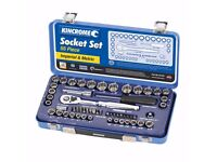 Kincrome Socket Set 1/4in & 3/8in - 55 Piece RRP..£65