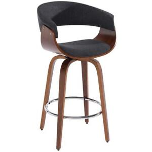 Charcoal Grey Counter Stool Sale-WO 7655 (BD-2525)