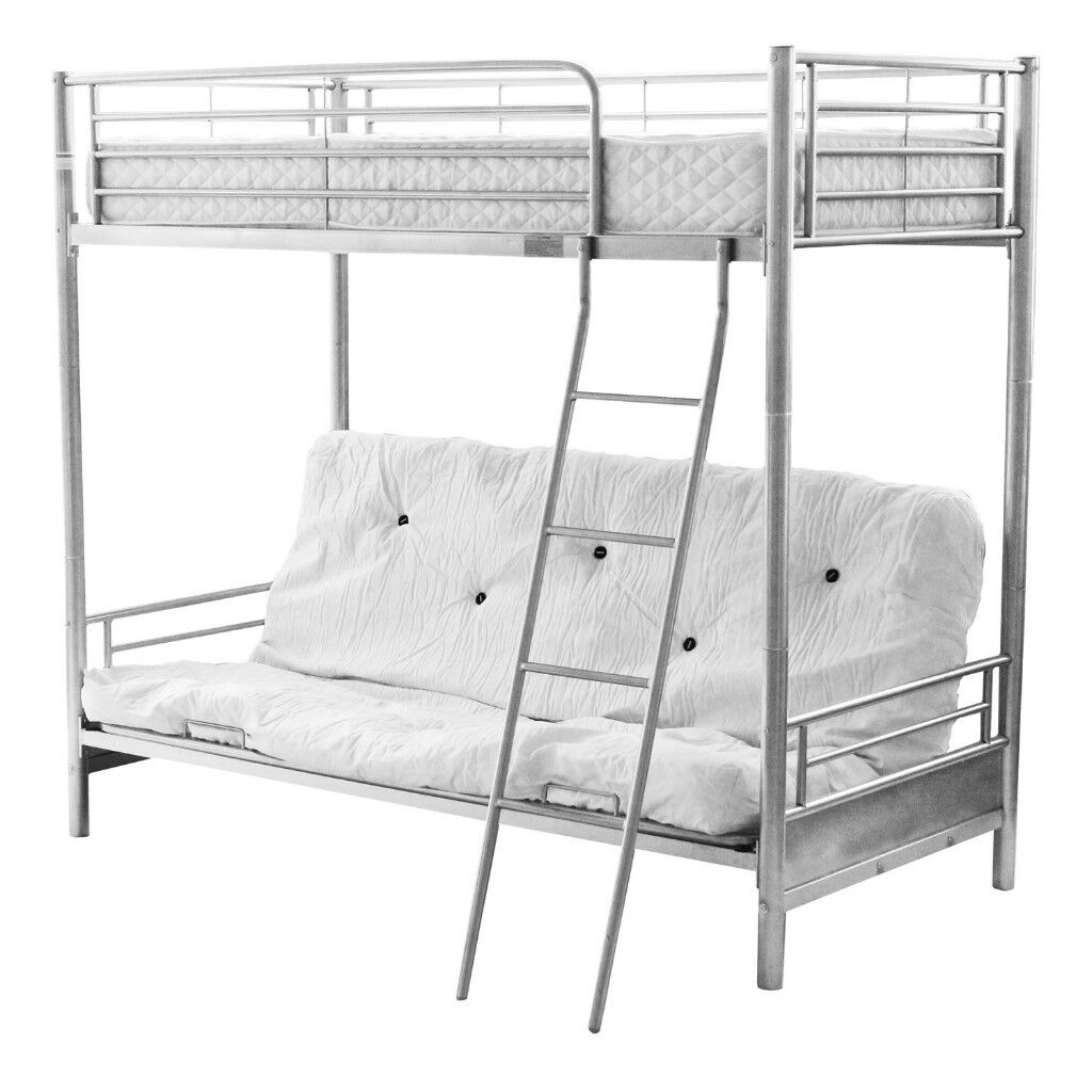 75 ono) triple sleeper futon bunk bed (convertible!) | in chester