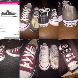 Various converse for sale like new