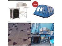 Vango Keswick 600DXL , Carpet, Footprint &Sarins camp Kitchen