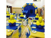 Minions Party - Cake Table - Kids Party - Balloon Arch