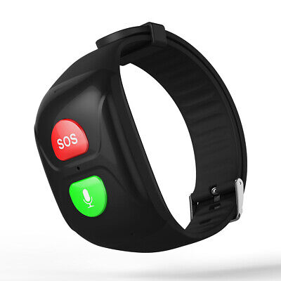 Ältere SOS Notruftaste Anti Lost echtes GPS Tracking Armband