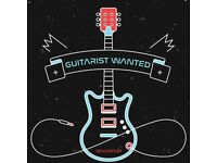 GUITARIST WANTED FOR GIGGING, TOURING ROCK BAND