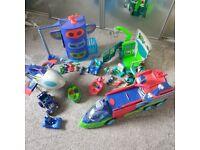 PJ masks Toy Bundle