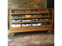 SHOP DISPLAY CABINET IMMACULATE - reduced !!!