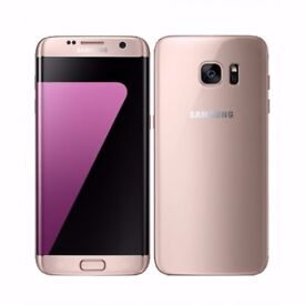 Like New -Perfect condition!-Samsung Galaxy S7 Edge -Dual Sim-32gb-Pink Gold *WITH ORIGINAL BOX*