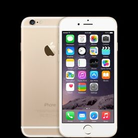 iPhone 6 - 16GB - Gold - Unlocked (New and in package with headphones and charger)