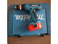 Makita 18v cordless drill No charger