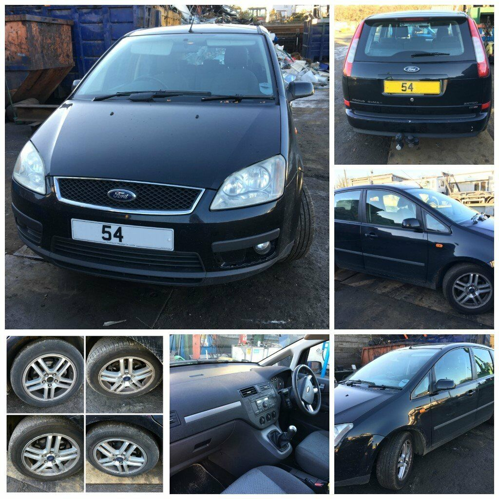 Ford Focus C-Max Zetec 2.0 Diesel 2004 Black F3 Front Bumper All parts Available