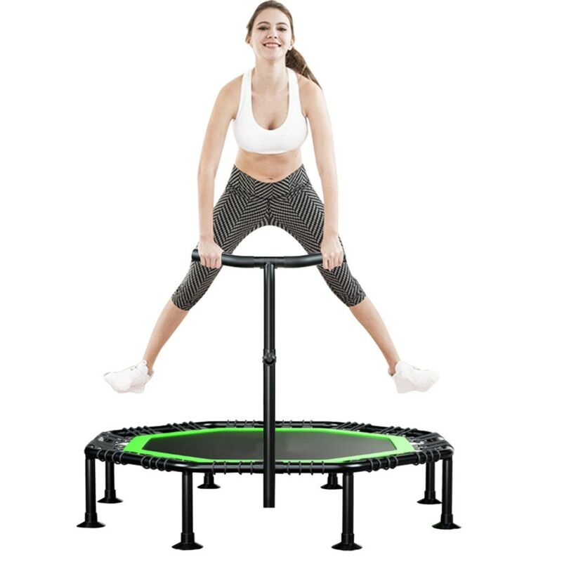 51'' Trampoline Rebounder Fitness Jumping For Kids Adults