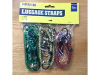 Assorted Elastic Bungee Cord Set (6 pack)