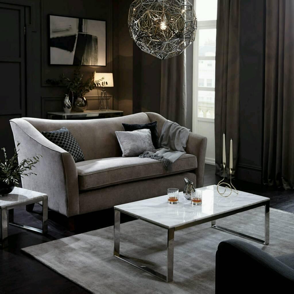 John Lewis Living Room Furniture New John Lewis Frost Marble Coffee Table In Birkenhead