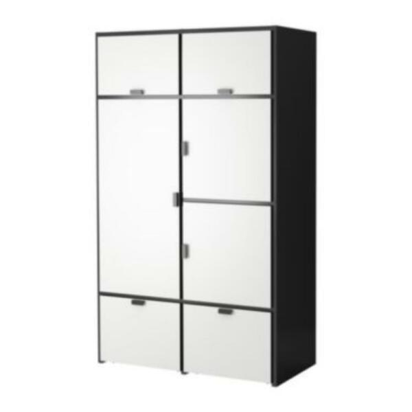 ikea rakke odda kleiderschrank in berlin lichtenberg ebay kleinanzeigen. Black Bedroom Furniture Sets. Home Design Ideas
