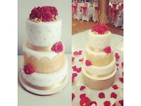 Wedding cakes from £45!! Last minute cakes