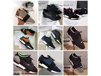 Balenciaga Race Runner Sneaker Womens UK2.5 - UK7 Delivery Shipping
