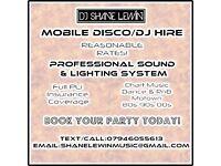 Mobile Disco/DJ Hire