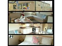 BRAND NEW STATIC CARAVAN FOR SALE - 2017 Site Fees Included