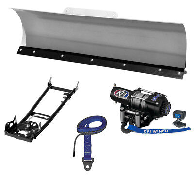 "New KFI 54"" Pro-Series Snow Plow System - 2014 Honda TRX420 Rancher AT 4x4 ATV"