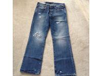 Men's Blue Abercrombie & Fitch Jeans - W33 L32