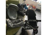 Grey Quinny Buzz travel system