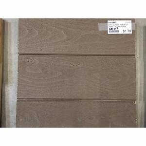 Revêtement extérieur en bois (V-Joint) - couleurs et quantités variées