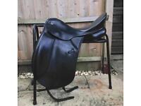 Keiffer Black dressage saddle medium width
