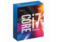 i7 6700k and Asus Z170 Pro Gaming Motherboard