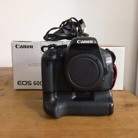 Canon 600D DSLR camera. Body only.