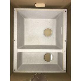 Blanco Sublime 340/160 Kitchen Basin Pearl Grey