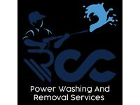 RCC Power Washing and Removal Services