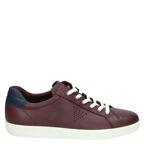 Ecco Soft 1 lage sneakers rood , maat 40