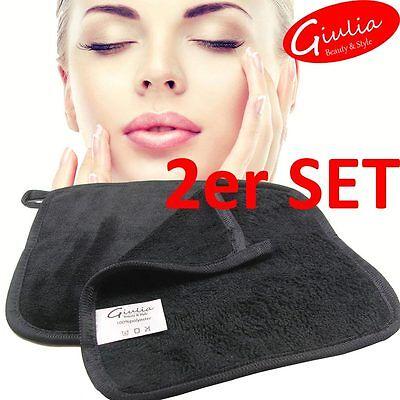 2er SET Abschminktuch   Make-up Entferner Tuch   Mikrofaser   Gesichtsreinigung