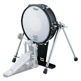 Roland V Drums KD-120 Electronic Mesh Trigger Kick Pad Bass drum 12 inch NICE upgrade
