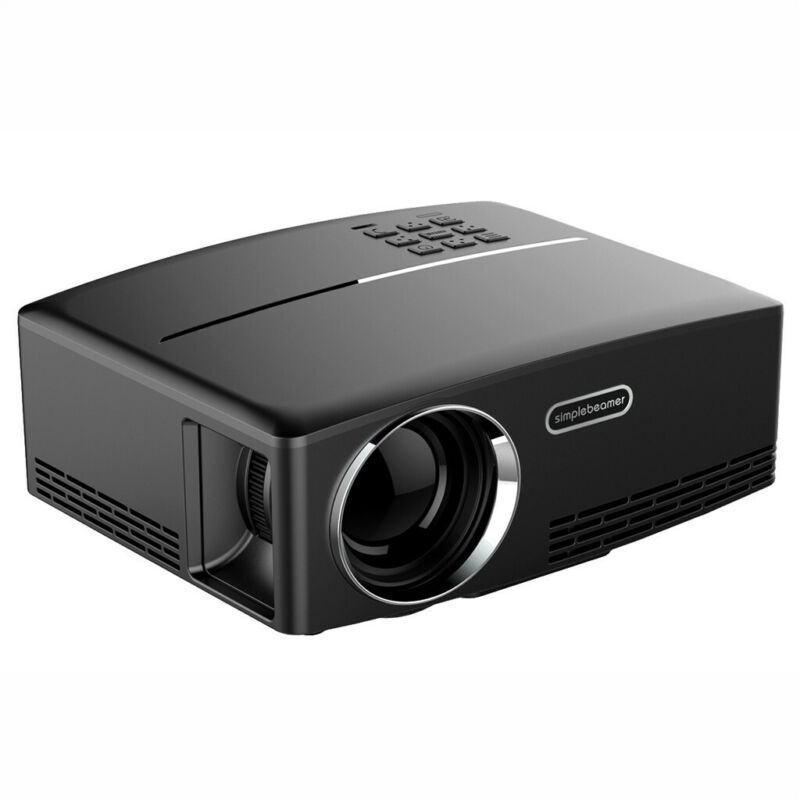 8000Lumens HD Projector Home Theater HDMI