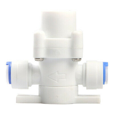 Plastic White Water Pressure Relief Valve Water Pressure Reducing Regulator Plastic Relief Valve